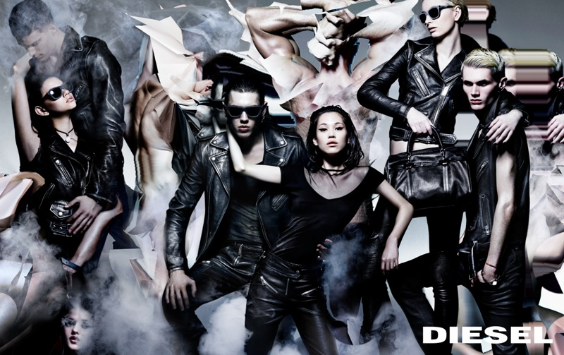 diesel prefall 2014 campaign2 Diesel Channels Modern Renaissance for its Pre Fall 2014 Campaign