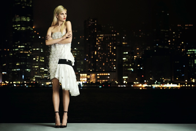 dior couture hong kong1 Its Dior, Darling: Anmari Botha Models Couture for Tatler Hong Kong