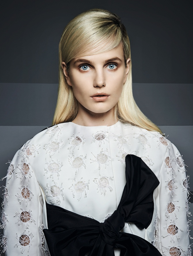 dior couture hong kong3 Its Dior, Darling: Anmari Botha Models Couture for Tatler Hong Kong