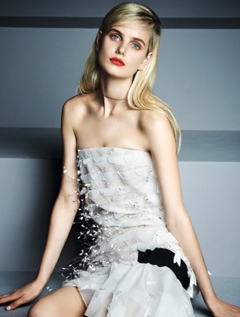It's Dior, Darling: Anmari Botha Models Couture for Tatler Hong Kong