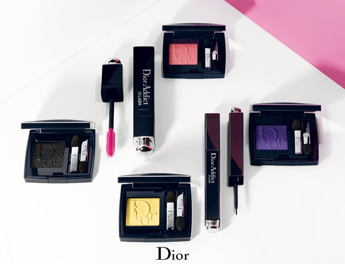 dior lash addict photos makeup4 Sasha Luss Returns for Dior Addict It Lash Mascara Campaign