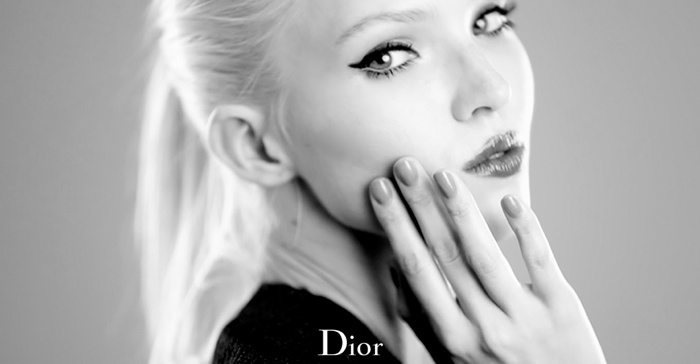 dior lash addict photos makeup7 Sasha Luss Returns for Dior Addict It Lash Mascara Campaign