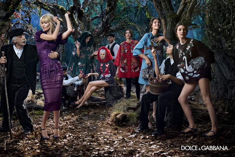 Claudia Schiffer, Bianca Balti Star in Dolce & Gabbana's Fall 2014 Campaign