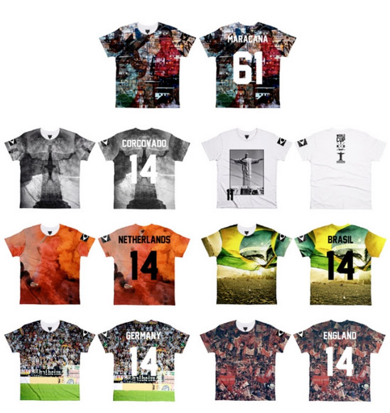 elevenparis world cup shirts Choose Your Team! ELEVENPARIS Launches World Cup T Shirts