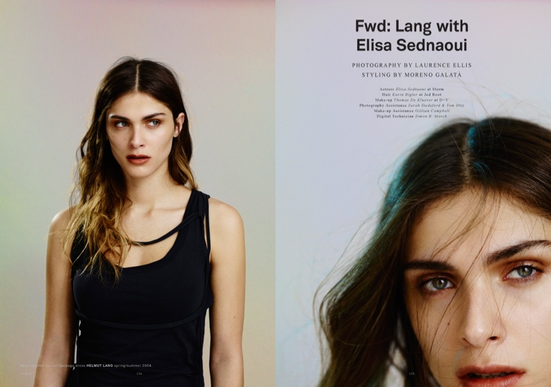 elisa sednaoui 2014 1 Elisa Sednaoui Goes Back to Basics for Lurve Magazine