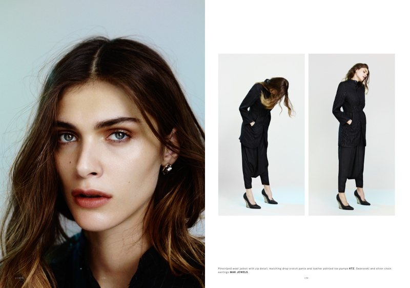 elisa sednaoui 2014 3 Elisa Sednaoui Goes Back to Basics for Lurve Magazine