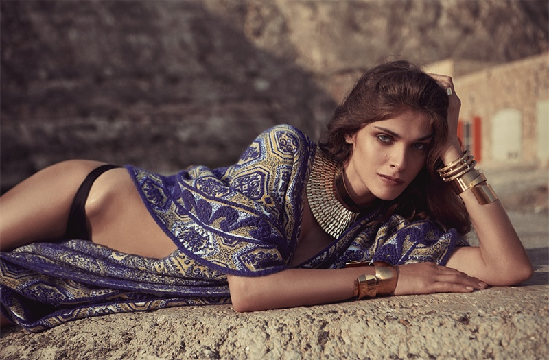 Elisa Sednaoui Poses for The Edit, Talks the Future of Egypt