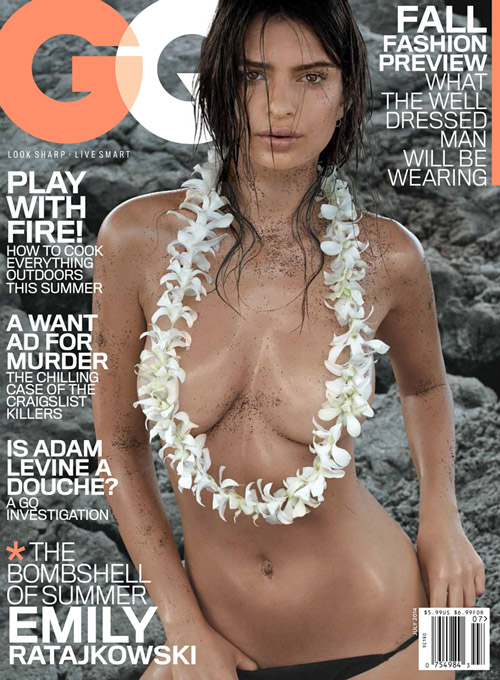 emily ratajkowski gq cover 2014 Emily Ratajkowski's GQ Cover Is Just as Expected   Super Hot
