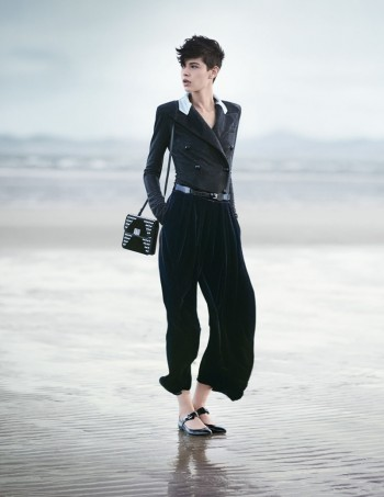 Emporio Armani Heads to the Beach for its Fall/Winter 2014 Campaign