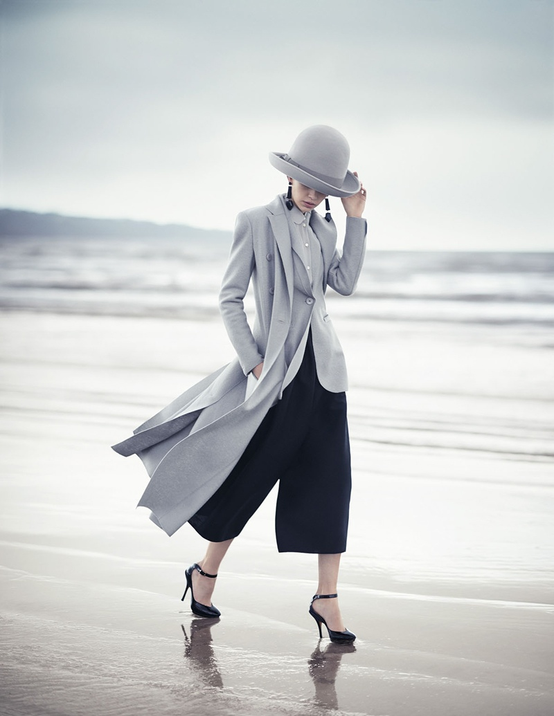 emporio armani fall winter 2014 campaign2 Emporio Armani Heads to the Beach for its Fall/Winter 2014 Campaign