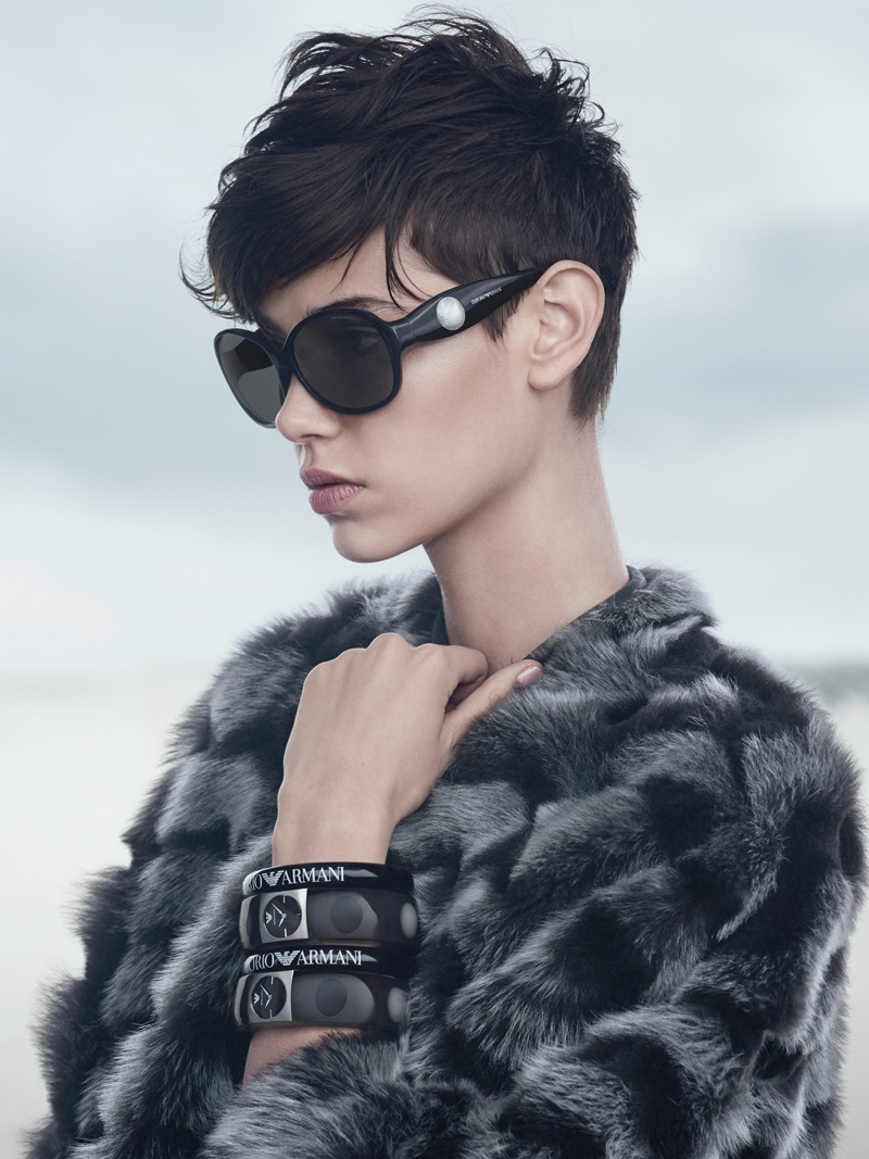 emporio armani fall winter 2014 campaign3 Emporio Armani Heads to the Beach for its Fall/Winter 2014 Campaign