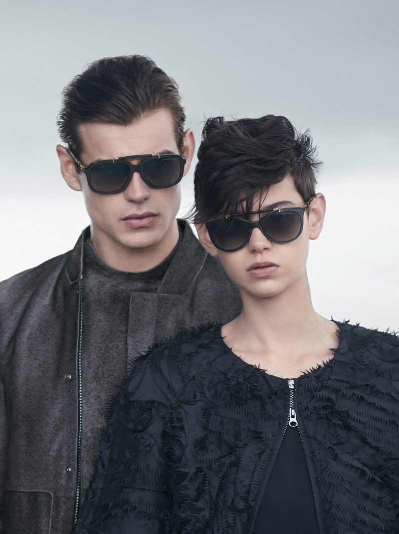 emporio armani fall winter 2014 campaign5 Emporio Armani Heads to the Beach for its Fall/Winter 2014 Campaign