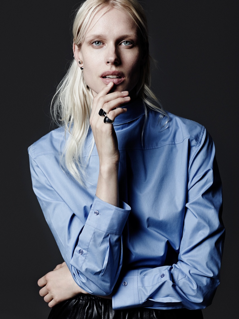 femke rika6 Femke Keeps it Simple in Rika Shoot by David Cohen de Lara