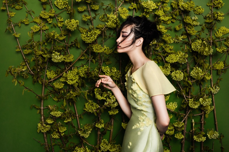 flowers fashion zhang jingna phuong my2 FGR Exclusive | Kwak Ji Young by Zhang Jingna in Flowers Bloom