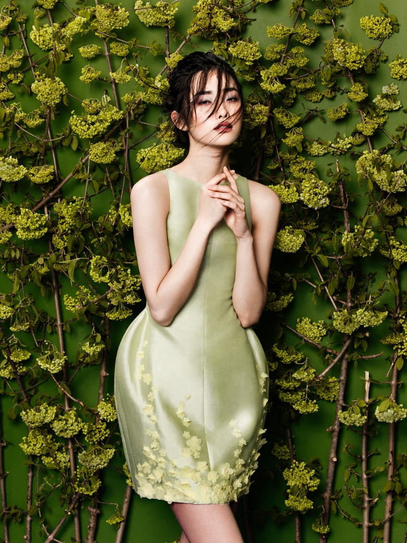 flowers fashion zhang jingna phuong my3 FGR Exclusive | Kwak Ji Young by Zhang Jingna in Flowers Bloom