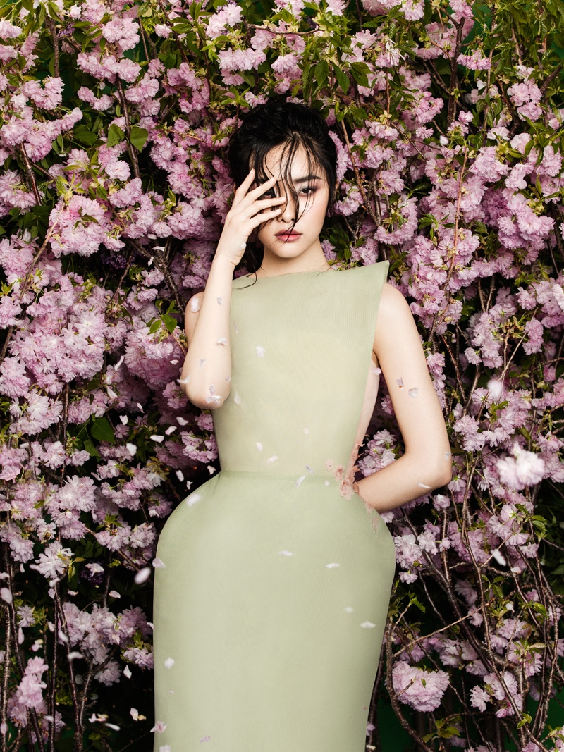 flowers fashion zhang jingna phuong my5 FGR Exclusive | Kwak Ji Young by Zhang Jingna in Flowers Bloom