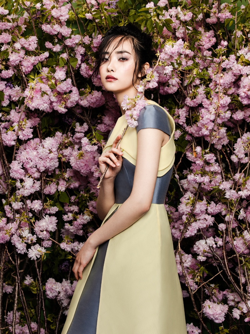 flowers fashion zhang jingna phuong my7 FGR Exclusive | Kwak Ji Young by Zhang Jingna in Flowers Bloom