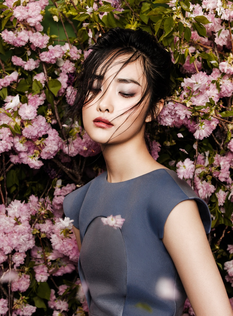 flowers fashion zhang jingna phuong my8 FGR Exclusive | Kwak Ji Young by Zhang Jingna in Flowers Bloom