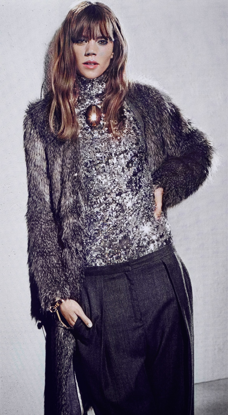 freja beha by malene birger fall 2014 campaign1 Freja Beha Erichsen Stars in By Malene Birger Fall 2014 Campaign