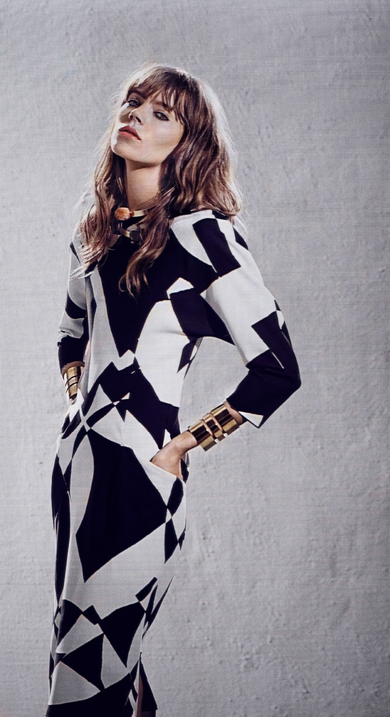 freja beha by malene birger fall 2014 campaign13 Freja Beha Erichsen Stars in By Malene Birger Fall 2014 Campaign