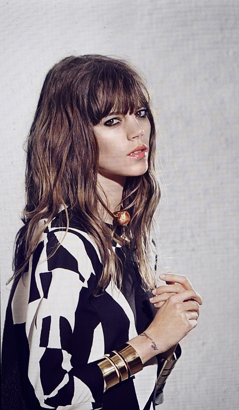 freja beha by malene birger fall 2014 campaign14 Freja Beha Erichsen Stars in By Malene Birger Fall 2014 Campaign