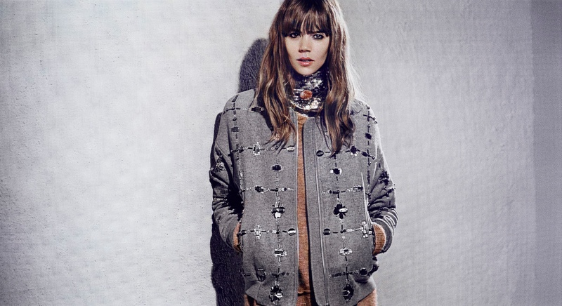 freja beha by malene birger fall 2014 campaign2 Freja Beha Erichsen Stars in By Malene Birger Fall 2014 Campaign