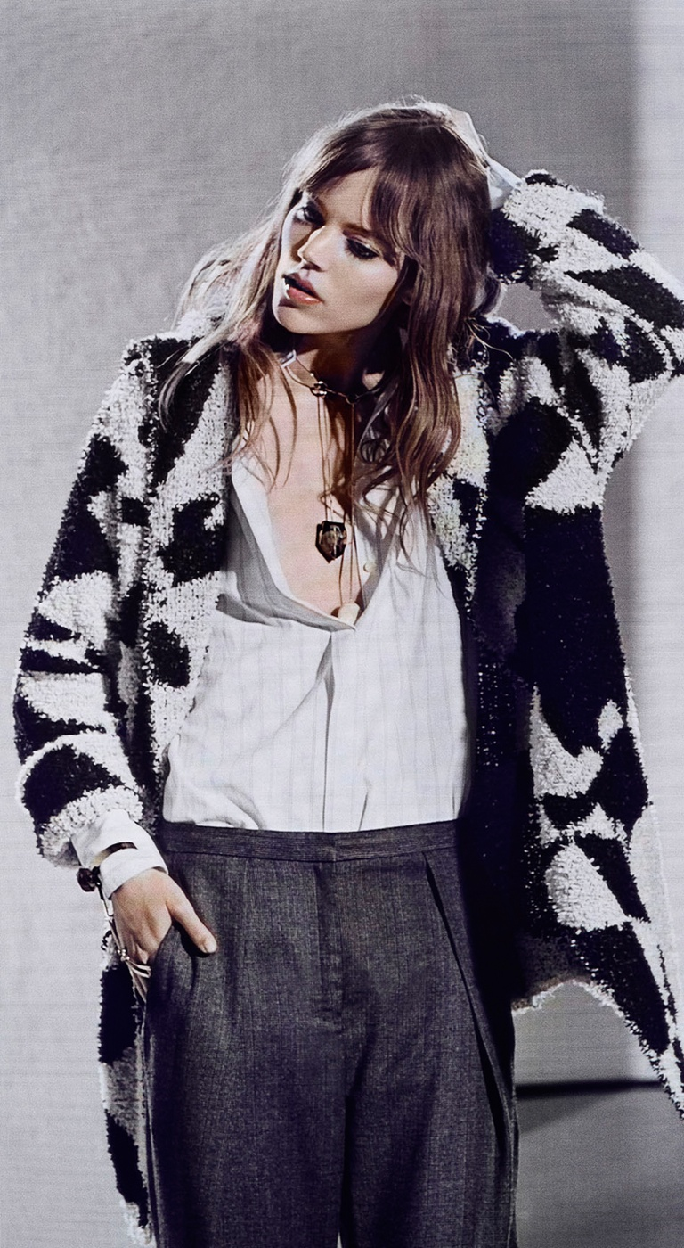 freja beha by malene birger fall 2014 campaign4 Freja Beha Erichsen Stars in By Malene Birger Fall 2014 Campaign