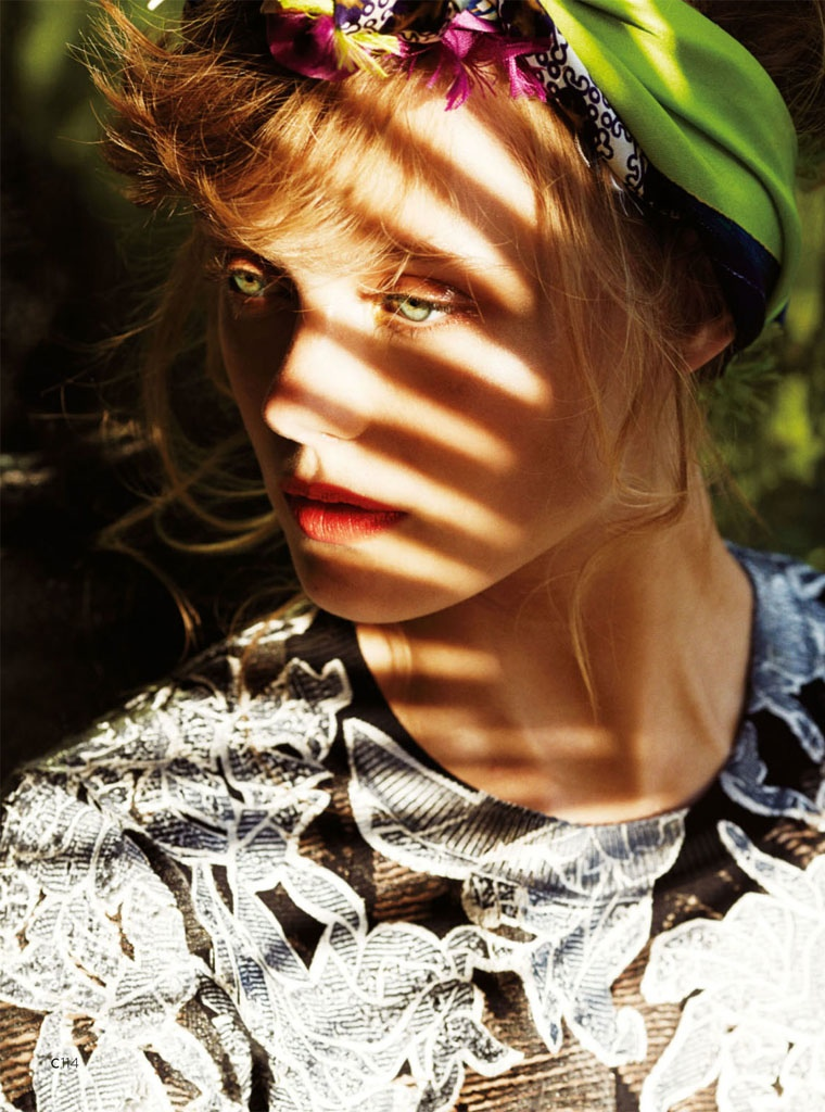 frida gustavsson summer california hilary walsh10 Frida Gustavsson Heads to the Tropics for C Magazine by Hilary Walsh
