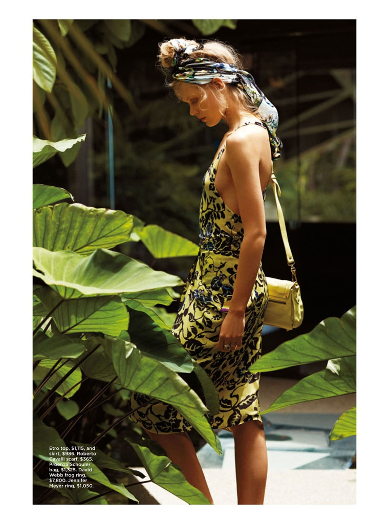 frida gustavsson summer california hilary walsh11 Frida Gustavsson Heads to the Tropics for C Magazine by Hilary Walsh