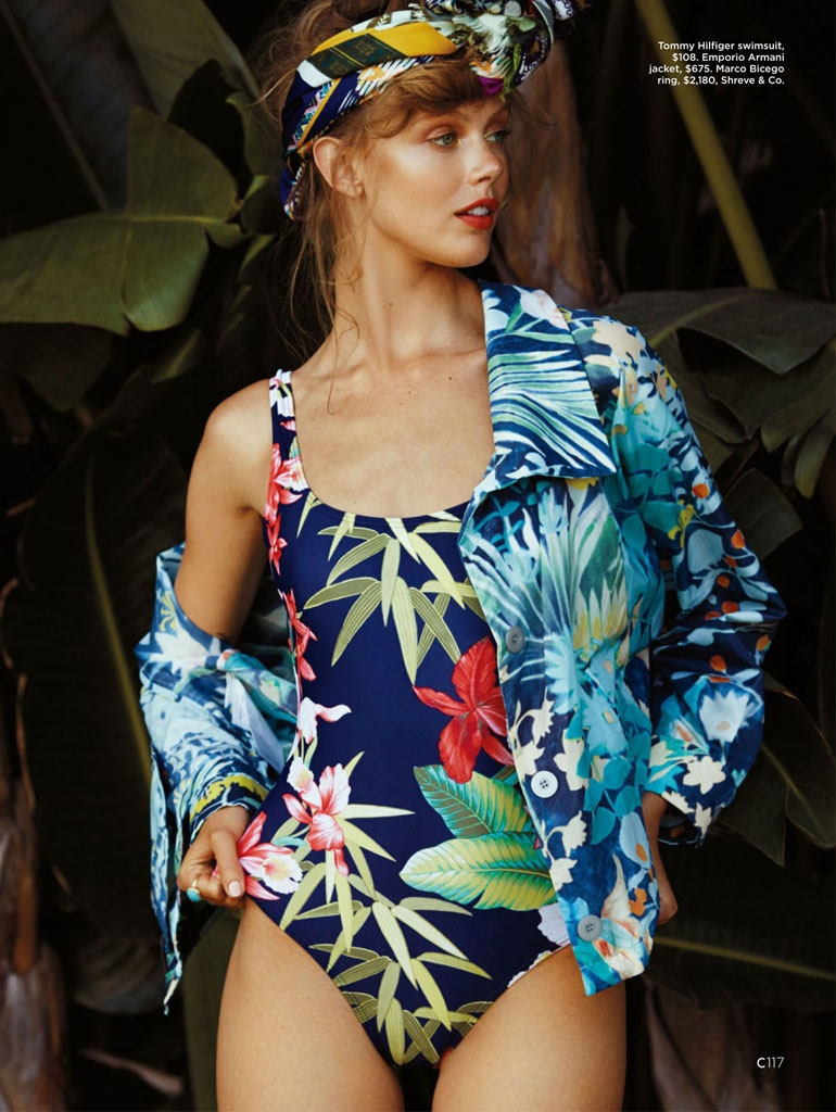 frida gustavsson summer california hilary walsh2 Frida Gustavsson Heads to the Tropics for C Magazine by Hilary Walsh