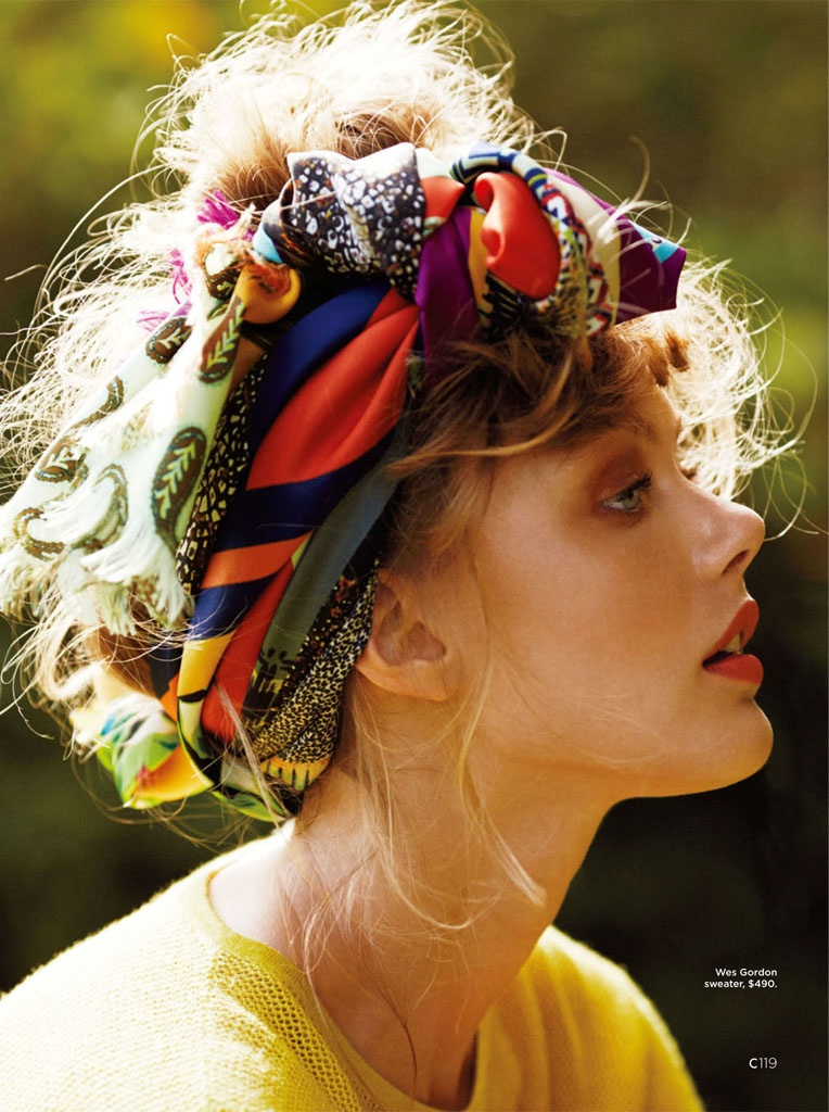 frida gustavsson summer california hilary walsh9 Frida Gustavsson Heads to the Tropics for C Magazine by Hilary Walsh