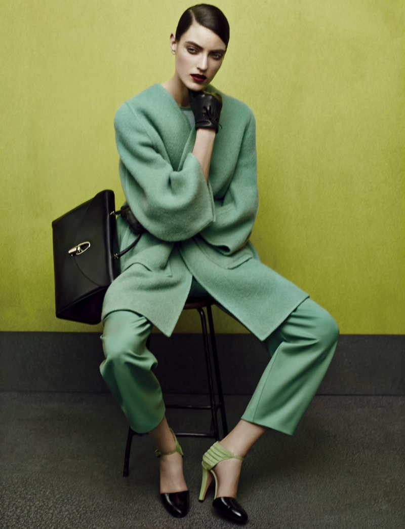First Look | Giorgio Armani Fall 2014 Campaign with Marikka Juhler