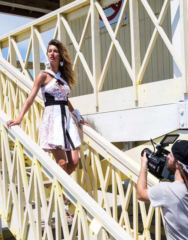 BTS: Gisele Bundchen Shoots Upcoming Colcci Campaign in Miami