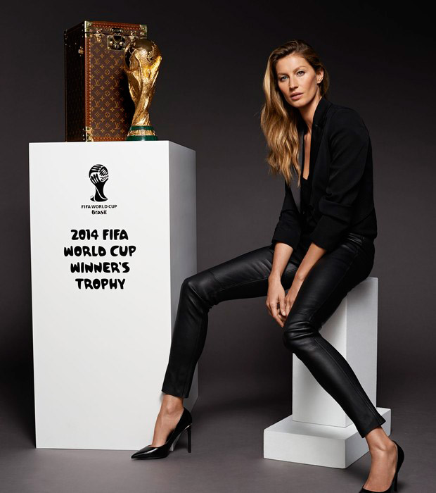gisele bundchen world cup trophy Gisele Bundchen Will Have Role in World Cup Final But Its Not What You Think