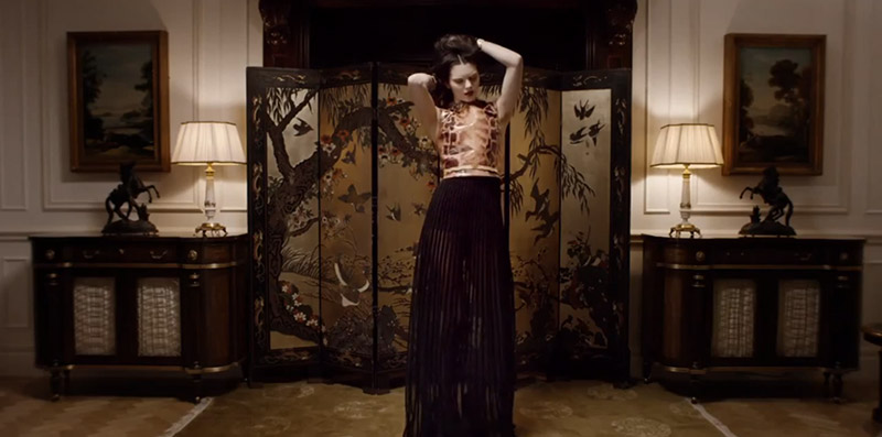 givenchy fall video Watch Kendall Jenner, Mariacarla Boscono + More Show Their Moves for Givenchys 2014 Fall Campaign Video