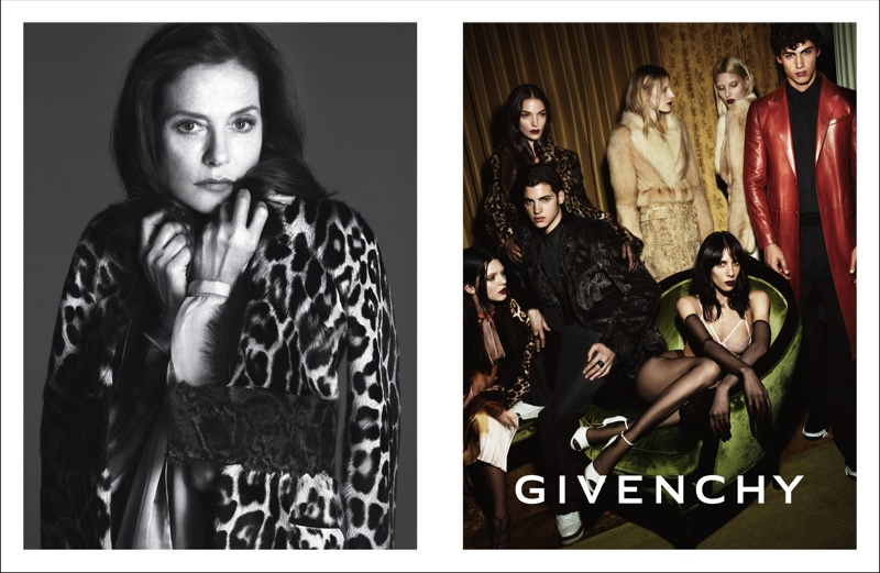 More Photos from Givenchy's Fall 2014 Campaign with Isabelle Huppert, Kendall Jenner + More