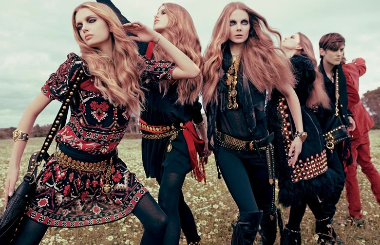 gucci 2008 fall campaign1 TBT | Guccis Fall 2008 Campaign is the Best of Bohemian Glam