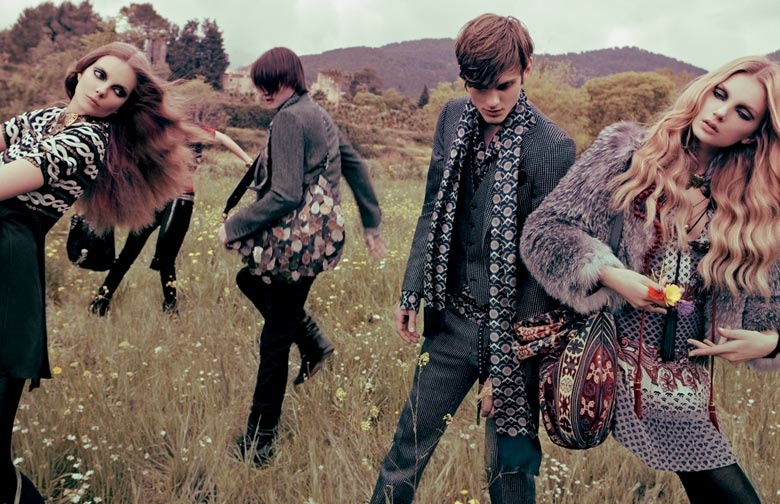 gucci 2008 fall campaign10 TBT | Guccis Fall 2008 Campaign is the Best of Bohemian Glam