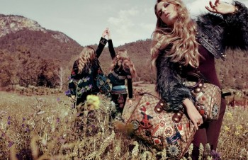 TBT | Gucci's Fall 2008 Campaign is the Best of Bohemian Glam