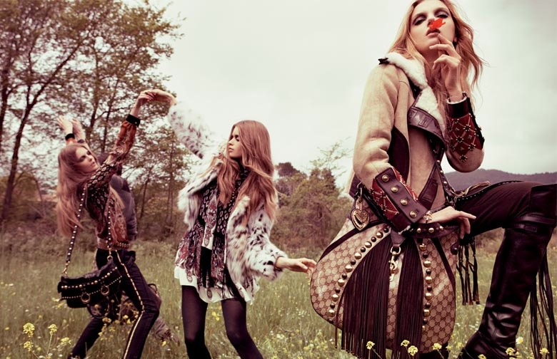 gucci 2008 fall campaign3 TBT | Guccis Fall 2008 Campaign is the Best of Bohemian Glam
