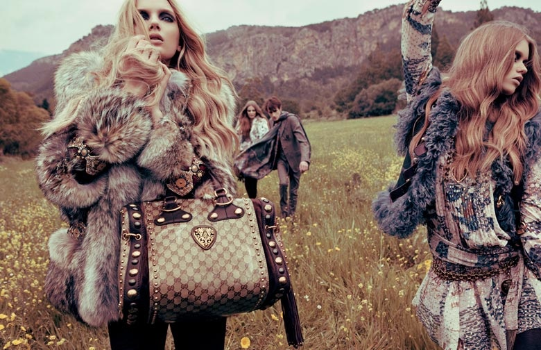 gucci 2008 fall campaign6 TBT | Guccis Fall 2008 Campaign is the Best of Bohemian Glam
