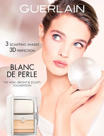 Natalia Vodianova Shines in Guerlain's Spring Beauty Ads