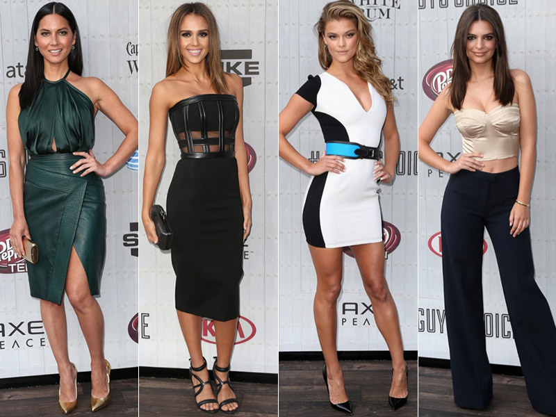 guys choice awards style 2014 2014 Spike Guys Choice Awards Style: Jessica Alba, Emily Ratajkowski + More