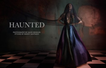 "FGR Exclusive | Victoria Zuban by David Benoliel in ""Haunted"""