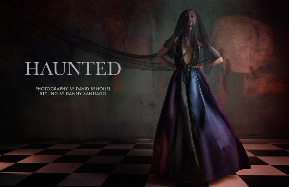 "FGR Exclusive | Victoria Zuban by David Benoliel in ""Haunted"""