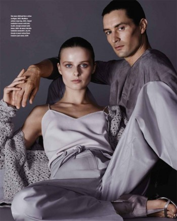 His & Hers Style: Vasilisa Pavlova by David Roemer for How to Spend It