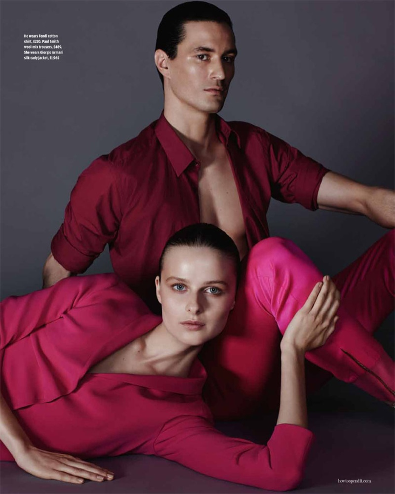 his her fashion shoot6 His & Hers Style: Vasilisa Pavlova by David Roemer for How to Spend It