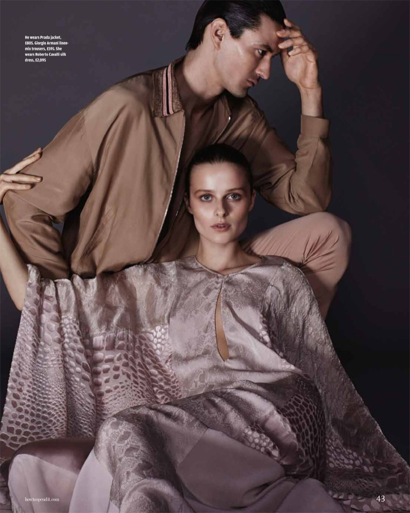 his her fashion shoot8 His & Hers Style: Vasilisa Pavlova by David Roemer for How to Spend It