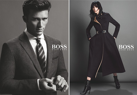 hugo boss fall 2014 campaign Jason Wu Taps Edie Campbell for His First Hugo Boss Campaign