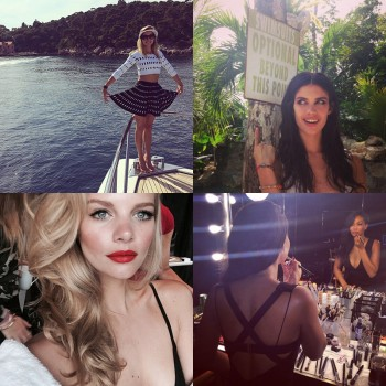 Instagram Photos of the Week | Jessica Hart, Marloes Horst + More Models